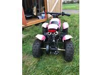 Girls pink 50cc 2 stroke quad