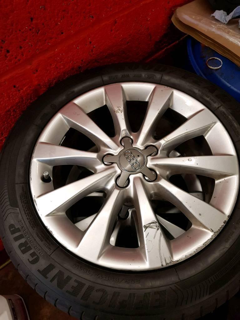 Audi alloys 5×112