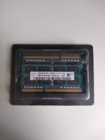 Laptop memory 8GB - Used in a Macbook Pro Unibody