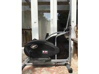 Exercise air elliptical strider