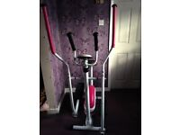 Exercise bike & cross trainer combined