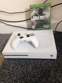 Xbox one s 500gb with games