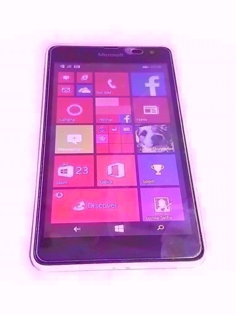 """MICROSOFT LUMIA 535 SMARTPHONE VODAFONEin Stoke on Trent, StaffordshireGumtree - Nokia Lumia 535 SMARTPHONE 5"""" SCREEN SIZE 5 MP CAMERA 8 GB STORAGE NO CABLES 1 GB RAM 1.2 GHZ PROCESSOR WINDOWS OPERATING SYSTEM COMES WITH SCREEN tampered PROTECTOR fitted PHONE IS LOCKED TO VODAFONE NETWORK"""