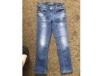 Girls next skinny jeans age 7