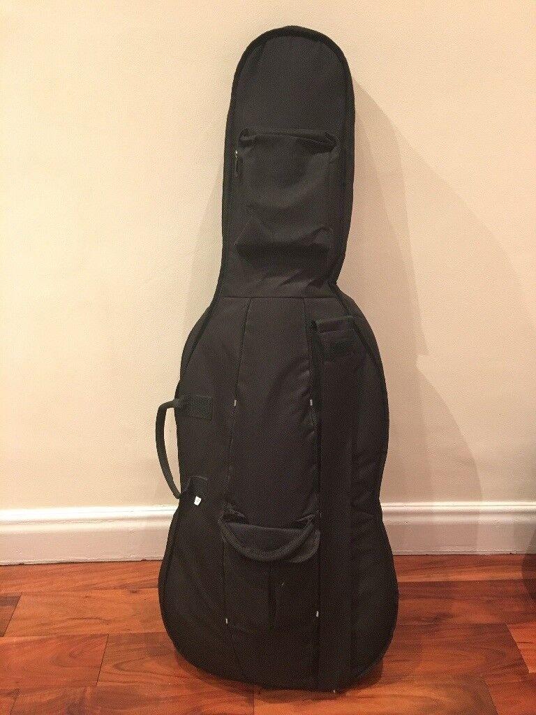 3/4 cello, bow & case