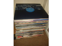 Over 100 DJ vinyls records