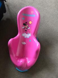 Minnie Mouse Baby Bath Seat