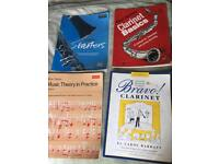 Clarinet starter books