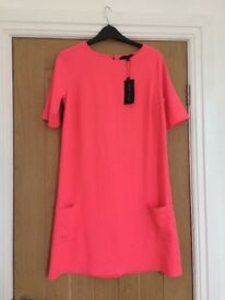 New Look Pink Dress Size 10 BN