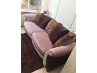 4 seater DFS sofa in mint condition for sale