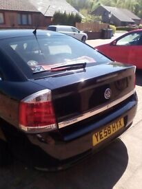 This is my vauxhall vectra this has been a very well mentained car and well looked after.