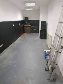 studio for band or producer or artist