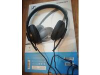Sennheiser HD 100 headphones, used once