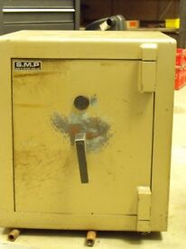 Safe - key operated safe in good condition