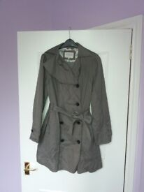 M&S grey coat size 12