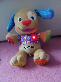 Fisher Price Laugh and Learn Love to Play Puppy. Excellent condition