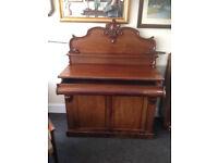 Superb Ornate Antique Victorian Mahogany Chiffonier Sideboard Dresser