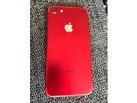 Apple iphone 7 RED great condition