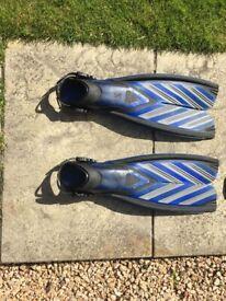 suba-pro open-heel split fins