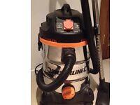 Silveline 806719 1500W Wet & Dry Vacuum Cleaner 30L