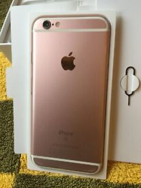 Rose Gold iPhone 6s 32GB on O2, Giffgaff, Tesco Mobile, GT Mobile