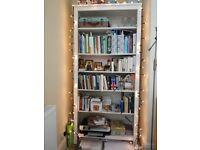 White bookcase (Hemnes)