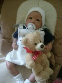 REBORN DOLL BABY REBORN ANDREW CHILD FRIENDLY FROM 4YRS PLUS