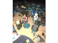 NINTENDO WiiU Lego Dimensions with portal and extras