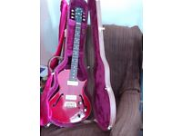 GIBSON U.S.A. BLUES HAWK 1997 CHERRY GOOD CONDITION