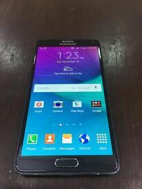 Samsung galaxy note 4 in black 32 Gb unlocked