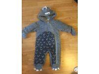 Next baby boy dinosaur snowsuit
