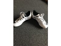 CR7 Football boots size 13 for kids with Nike football same size