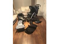 Graco travel system and car seat