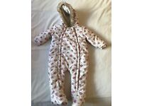 Baby snowsuit worn once