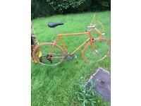 Vintage road bike Custom Raleigh