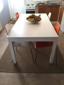 Ikea. Dinning room table and 4 chairs