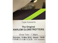 Harlem globetrotters x2 tickets £20 each