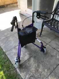 Wheeled mobility stroller