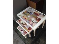 Cream Nest Tables