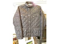 Boys Barbour Coat In VGC
