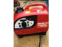 Petrol inverter generator Clarke 1000 240 volt 12 volt as new