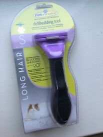Furminator for long haired cats