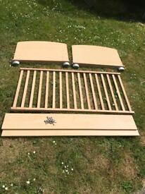 John Lewis toddler bed.
