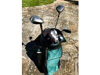 Premier Palmer Golf Clubs + carry bag