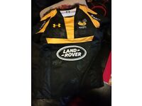 signed wasps rugby shirt