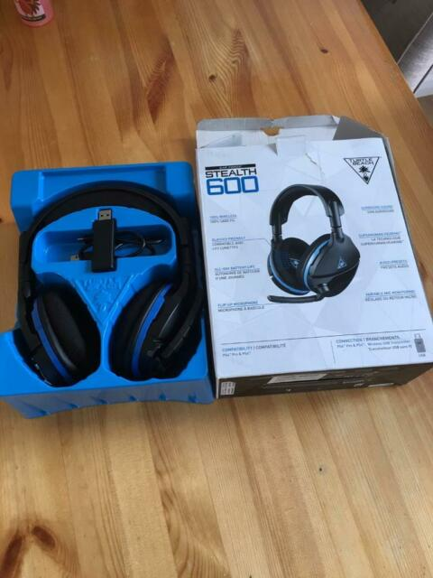 Turtle Beach Stealth 600 Wireless Headset for PS4/ PS4 pro | in  Barlborough, Derbyshire | Gumtree