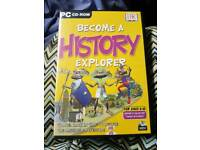 Become a History Explorer PC CD-ROM