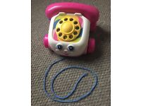 Fisher Price interactive telephone on wheels toy