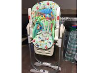 Chicco Polly Highchair (excellent condition)