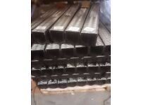 1m Storm Channel Drain C/W Galvanized Grating Lid. Ideal for Drainage of Surface Water